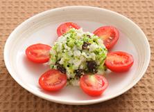 ブロッコリーと干しぶどうのサラダ