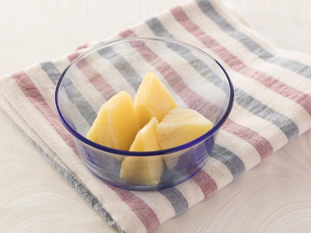 パイナップルのシャーベット